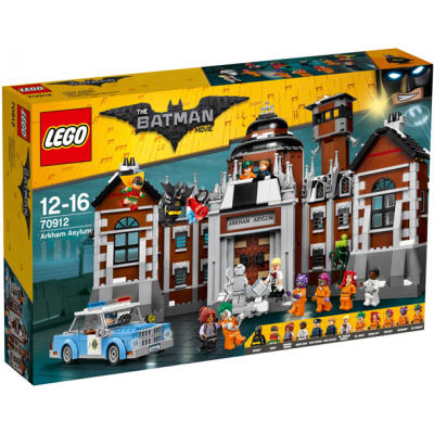 LEGO BATMAN MOVIE Arkham Asylum 2017