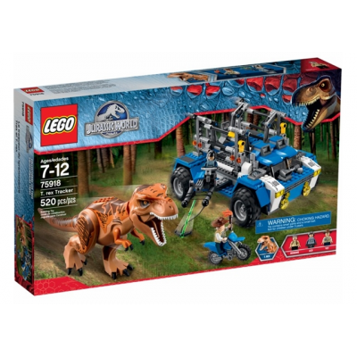 LEGO JURASSIC WORLD La Poursuite du T-Rex 2015
