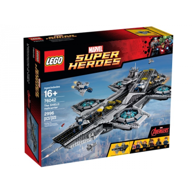 LEGO SUPER HEROES L'hélitransporteur du shield 2015