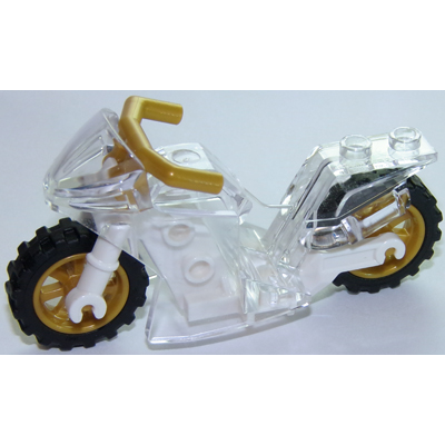 LEGO PIECES The Motorcycle Sport Bike