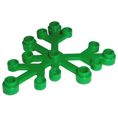 LEGO Plant Leaves 6 x 5 Green