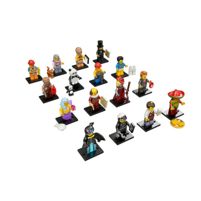 LEGO MINIFIGS LEGO MOVIE Serie Complete 16 minifgs 2014