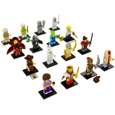 LEGO MINIFIGS SERIE 13 -Serie Complete 16 minifgs 2015