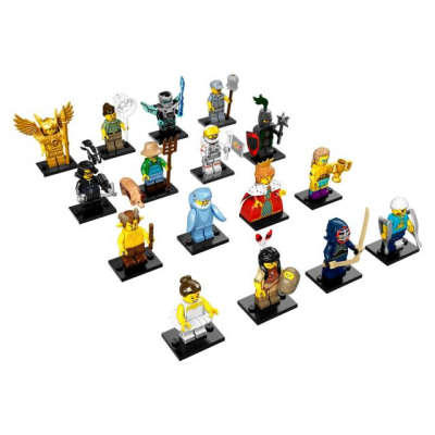 LEGO MINIFIGS SERIE 15 -Serie Complete 16 minifgs 2016