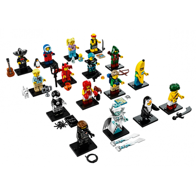 LEGO MINIFIGS SERIE 16 -Serie Complete 16 minifgs 2016