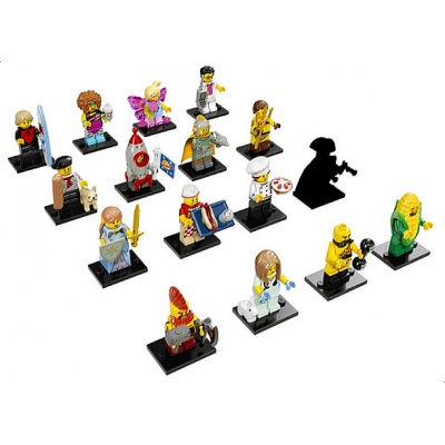 LEGO MINIFIGS SERIE 17 Serie complete (16 minifigs) 2017