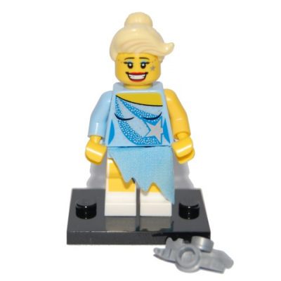 LEGO MINIFIGS SERIE 04 PATINEUSE ARTISTIQUE 2011