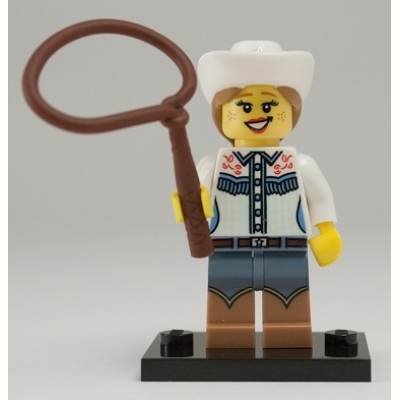 LEGO MINIFIGS SERIE 08 COWGIRL 2012