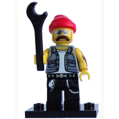 LEGO MINIFIG MOTORCYCLE MECHANIC 2013