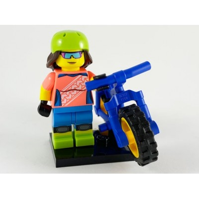 LEGO MINIFIG SERIE 19 Bicycle Mountain 2019