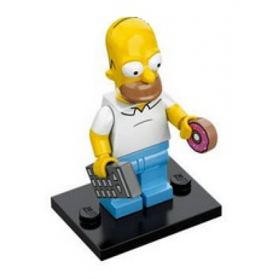 LEGO MINIFIG  SIMPSONS 1 Homer Simpson 2014