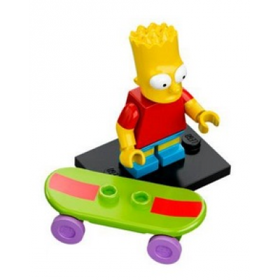 LEGO MINIFIG SIMPSONS 1 Bart Simpson 2014