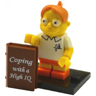 LEGO MINIFIG SIMPSONS 2 Martin Prince 2015