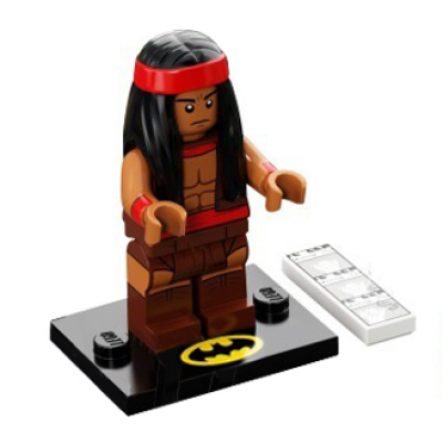 LEGO MINIFIGS SERIE 2 BATMAN MOVIE Apache Chief 2018