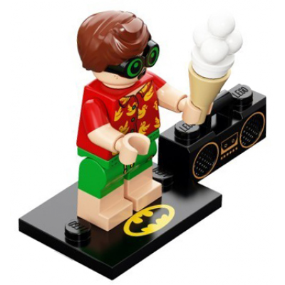 LEGO MINIFIGS SERIE 2 BATMAN MOVIE Robin en Vacances 2018