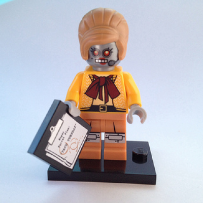 LEGO MINIFIGS LEGO MOVIE VELMA STAPLEBOT 2014
