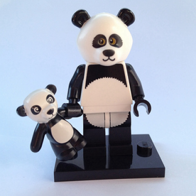LEGO MINIFIGS LEGO MOVIE PANDA 2014