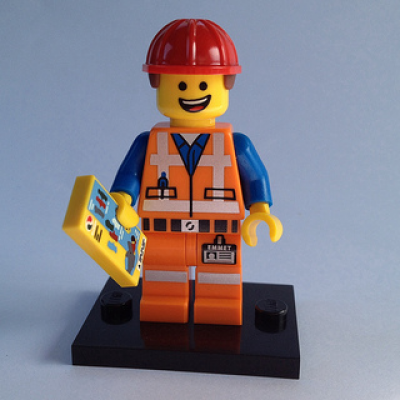 LEGO MINIFIGS LEGO MOVIE Emmet 2014