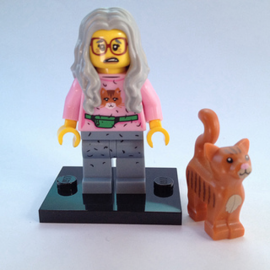 LEGO MINIFIGS LEGO MOVIE MRS. SCRATCHEN 2014