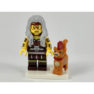 LEGO MINIFIGS LEGO MOVIE 2 Sherry Scratchen-Post  et Scarfield 2019