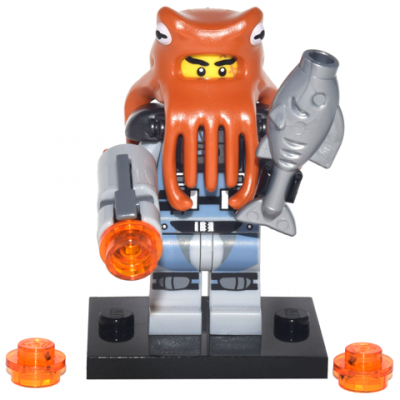 LEGO MINIFIGS SERIE NINJAGO MOVIE Requin Armée Octopus 2017