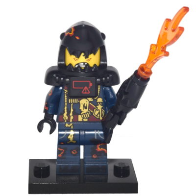 LEGO MINIFIGS SERIE NINJAGO MOVIE Armée de requin Great White 2017