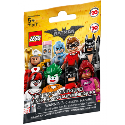 LEGO BATMAN 71017 - MINIFIGS  SERIE BATMAN MOVIE - 1 sac