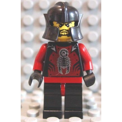 LEGO MINIFIG  Castle Knights Kingdom II  Le Chevalier Des Ombres