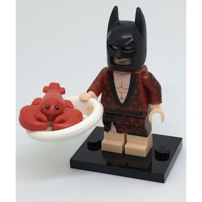 LEGO MINIFIGS BATMAN MOVIE Homard Batman 2017