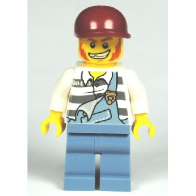 LEGO MINIFIG CITY Jail Prisoner
