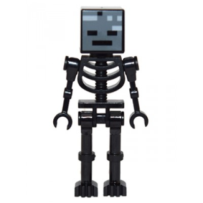 LEGO MINIFIG Minecraft Wither Skeleton