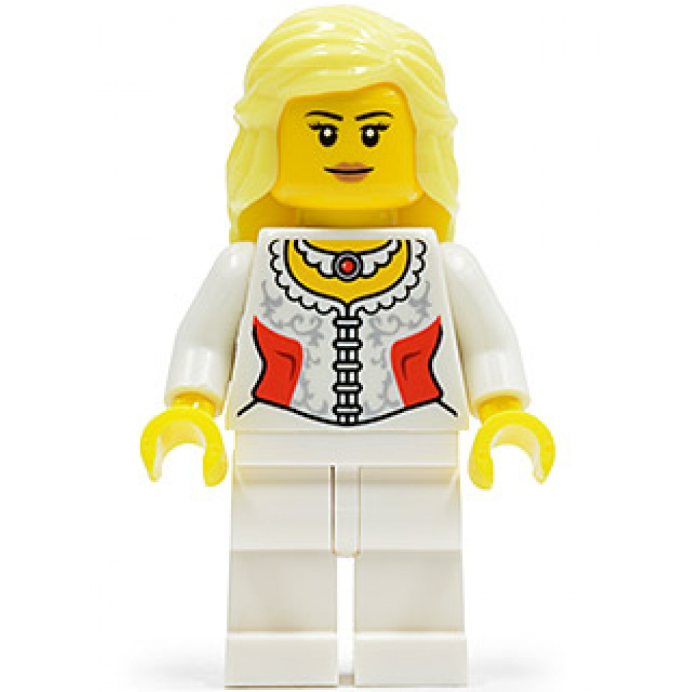 Lego Minifig Pirate Chess Queen