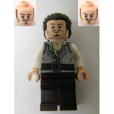 LEGO MINIFIG PIRATES DES CARAIBES Will Turner
