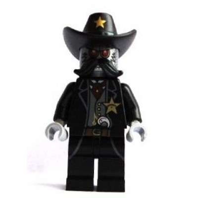 LEGO MINIFIG LEGO MOVIE Sheriff Not-a-robot