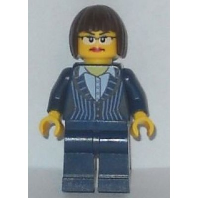 LEGO MINIFIG  The Lego Movie Executive Ellen