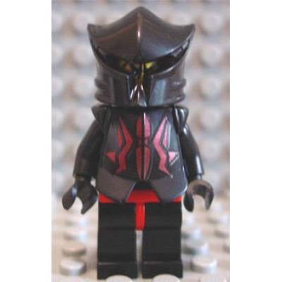 LEGO MINIFIG Castle Knights Kingdom II Shadow Knight Vladek