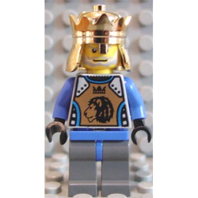 LEGO MINIFIG Castle Knights Kingdom II  King Mathias
