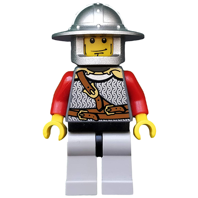 LEGO MINIFIG CASTLE Kingdom Lion Knight Scale Mai