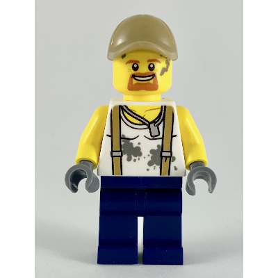 LEGO CITY MINIFIG Ingénieur de la jungle
