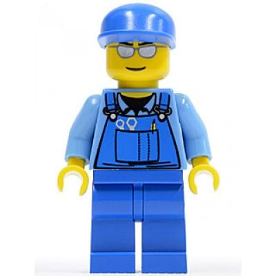 LEGO MINIFIG CITY Travailleur du train
