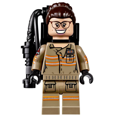 LEGO MINIFIG Ghostbusters Abby Yates