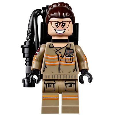 LEGO MINIFIG Ghostbusters Abby Yates
