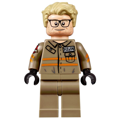 LEGO MINIFIG Ghostbusters Kevin Beckman