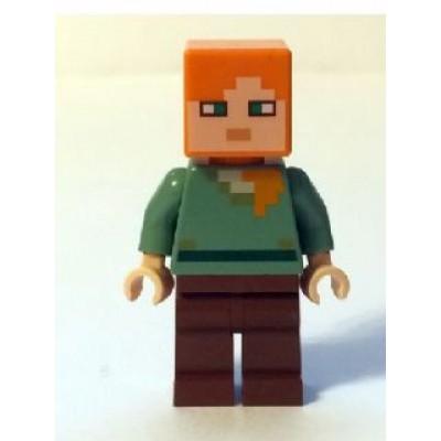 LEGO MINIFIG Minecraft Alex