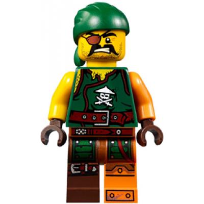 LEGO MINIFIG NINJAGO Sqiffy