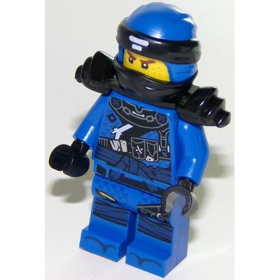 LEGO MINIFIG NINJAGO Jay avec armure