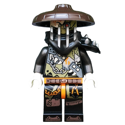 LEGO MINIFIG NINJAGO Heavy Metal