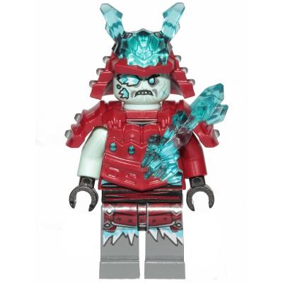 LEGO MINIFIG NINJAGO Blizzard Warrior / Samurai