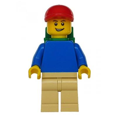 LEGO MINIFIG CREATEUR Garcon avec sac a dos
