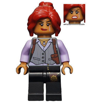 LEGO MINIFIGS The LEGO Batman Movie Barbara Gordon - Pinstripe Vest